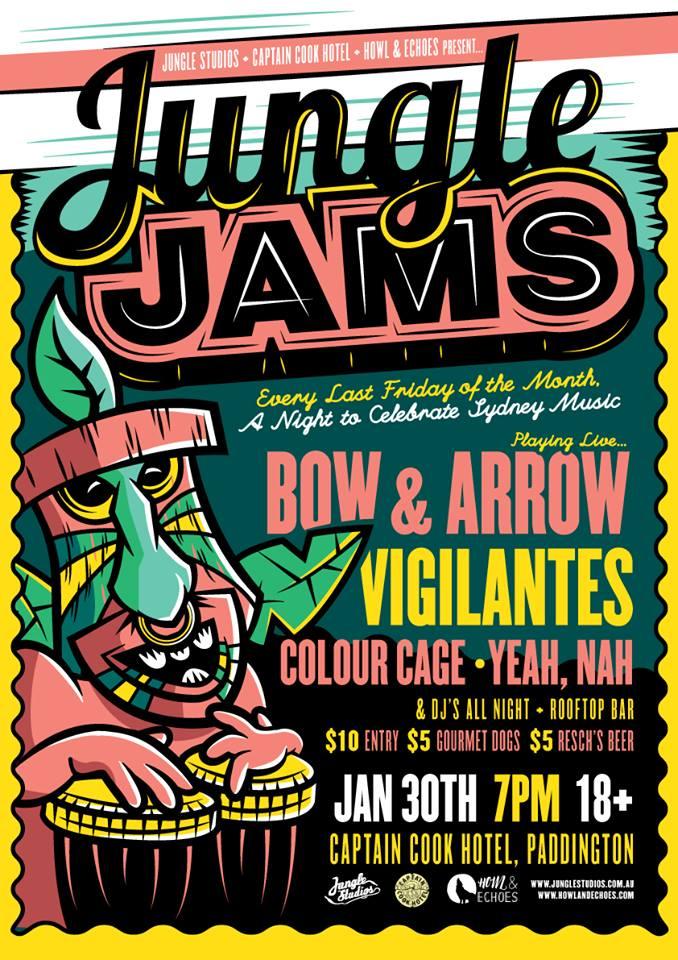 Jungle Jams 1: 30/01/2015