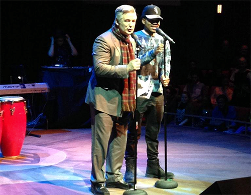 Alec Baldwin and Chance The Rapper
