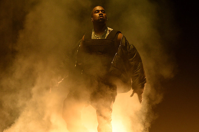 LAS VEGAS, NV - MAY 17:  Recording artist Kanye West performs onstage during the 2015 Billboard Music Awards at MGM Grand Garden Arena on May 17, 2015 in Las Vegas, Nevada.  (Photo by Larry Busacca/BMA2015/Getty Images for dcp)