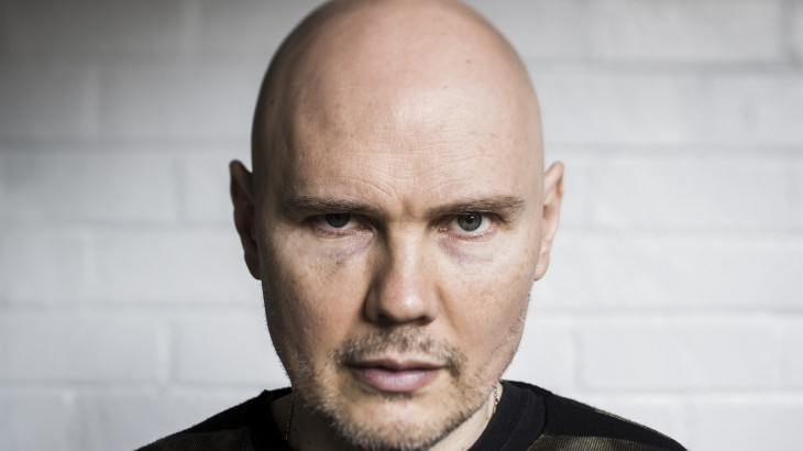 """HOLLYWOOD, CA --DECEMBER 10, 2014--Smashing Pumpkins frontman Billy Corgan is photographed during promotion of the band's new album, """"Monuments to an Elegy,"""" at the Hollywood Roosevelt Hotel, Dec. 10, 2014.  (Jay L. Clendenin / Los Angeles Times)"""