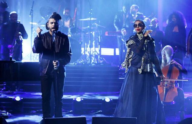 The-Weeknd-performs-with-Ms.-Lauryn-Hill-tonight-show-2016-billboard-650