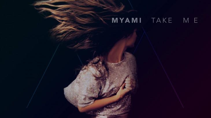 MYAMI Take Me single artwork