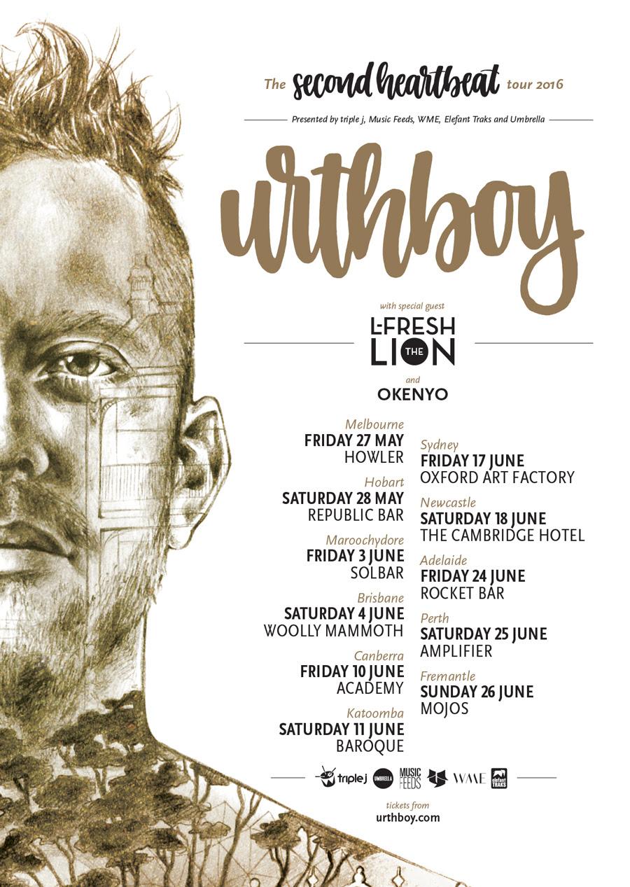 Urthboy tour