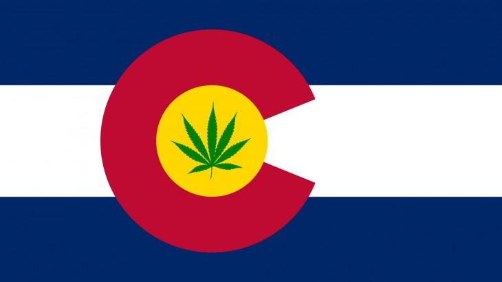 COLORADO WEED FLAG