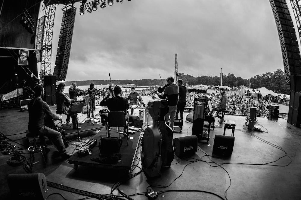 With Jonny Greenwood at Best Kept Secret Festival. Image: Supplied