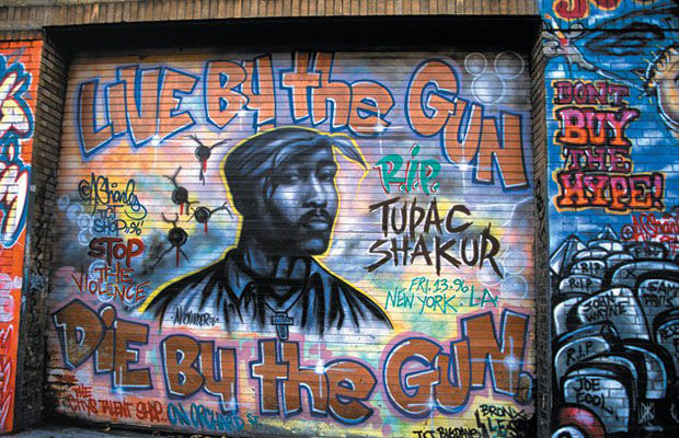 from a tribe called quest to biggie hip hop murals as