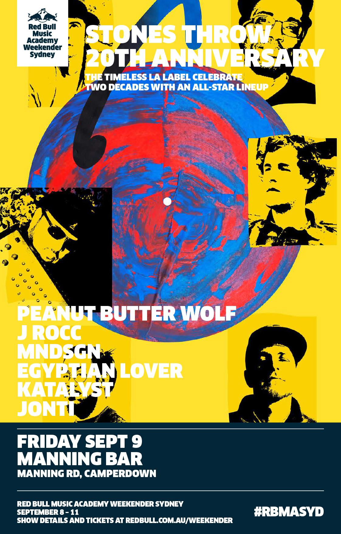 Giveaway Win A Double Pass To Stones Throw S 20th