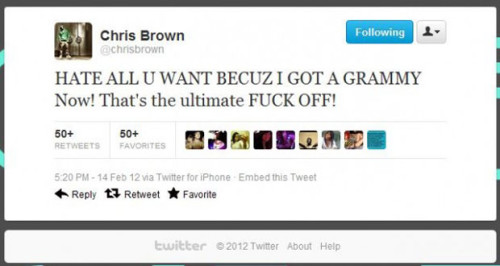 Chris Brown domestic violence