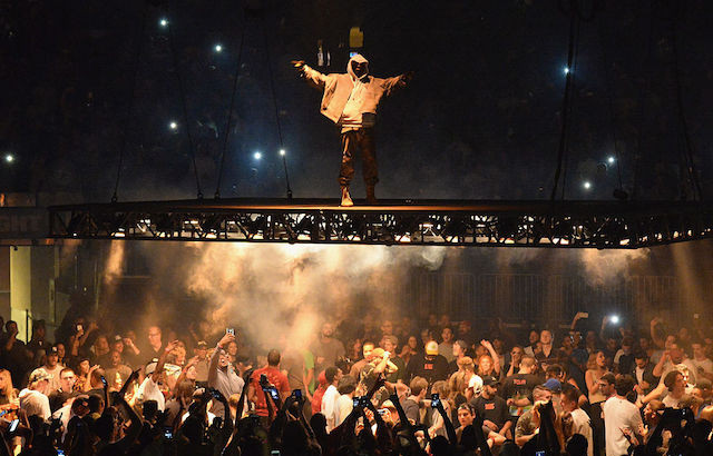 Good NEW YORK, NY   SEPTEMBER 05: Kanye West Performs During The Saint Pablo Tour