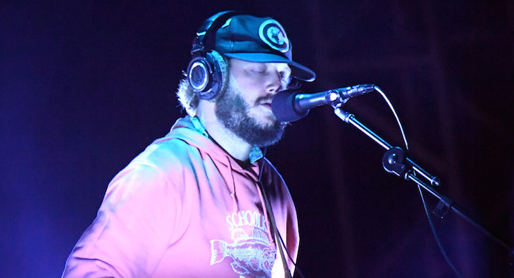 Santa Ana, CA - October 22:  Justin Vernon of Bon Iver performs on stage at the Beach Goth 2016 at Observatory OC on October 22, 2016 in Santa Ana, California.  (Photo by Jeff Kravitz/FilmMagic)