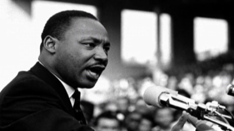 martin luther king topic
