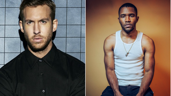 Calvin Harris is still teasing that collaboration with Frank Ocean